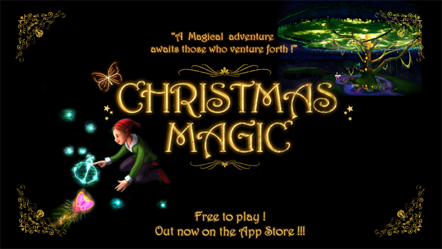 "Free Zen game ""Christmas Magic"" available for iPad"
