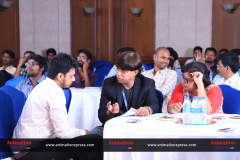Adobe's Sourabh Chenni and AnimationXpress CEO Anil Wanvari conversing at the event