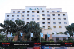 "Hotel Green Park, Chennai. The venue for ""The Video Editors' Toolbox"""