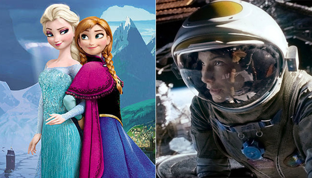 Gravity,' 'Frozen' Take Top Honors at 40th Annual Saturn