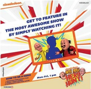 Nickelodeon Brings Alive Motu Patlu Through Augmented Reality