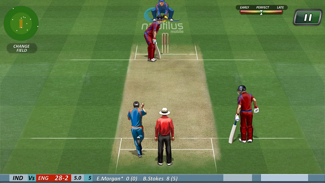 real games online cricket