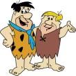 Flintstones_Fred_and_Barney