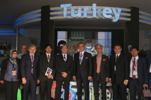 Deputy Minister of Communications & Multimedia Malaysia at Turkish Pavilion