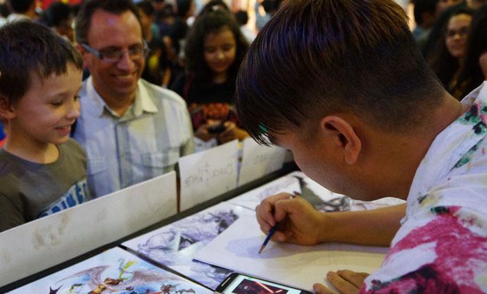 Comic Con Pune Peter Nguyen