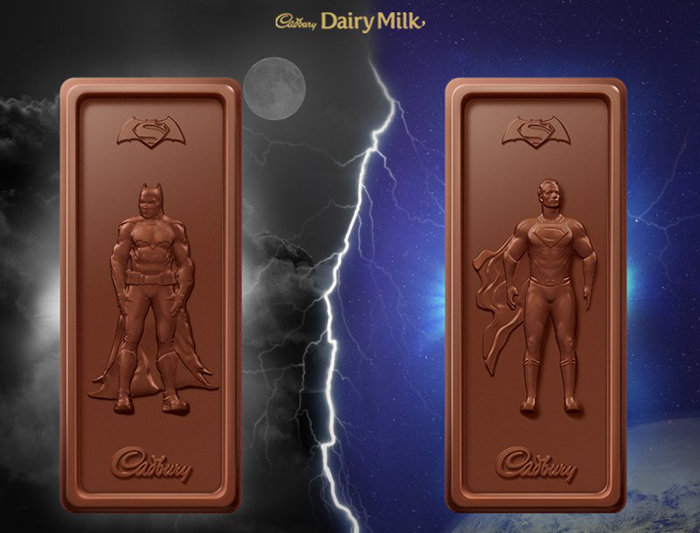 Batman v Superman cadbury