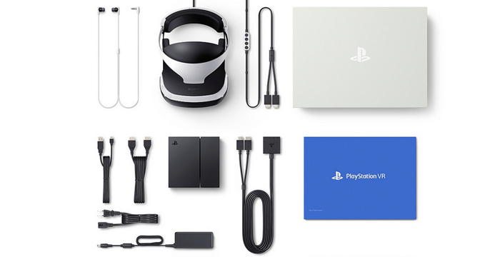 Playstation VR unit