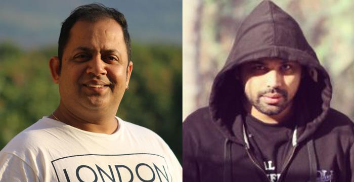 From left: Sudhir Trivedi, Prashant Thakur
