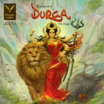 Durga Cover Vimanika Comics