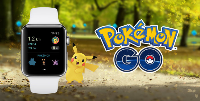 Pokemon Go apple-watch