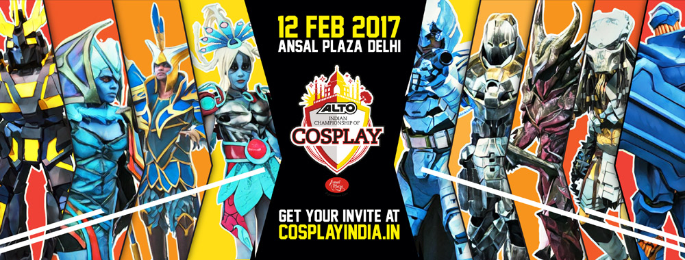 Alto Indian Championship of Cosplay 2017
