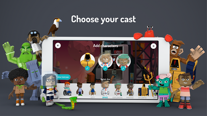 Google launches 3D animation app for kids titled 'Toontastic