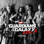 Guardians of the Galaxy Vol-2 poster