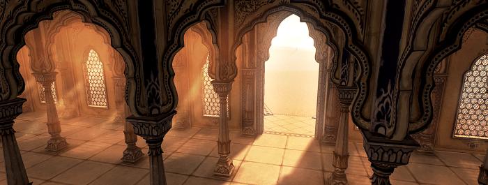 Raji game setting