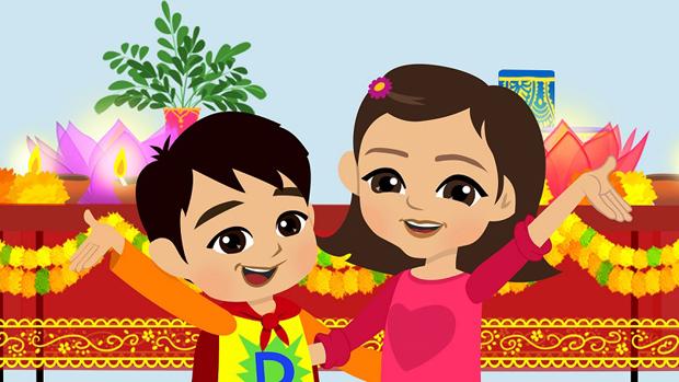 Uma and Devan