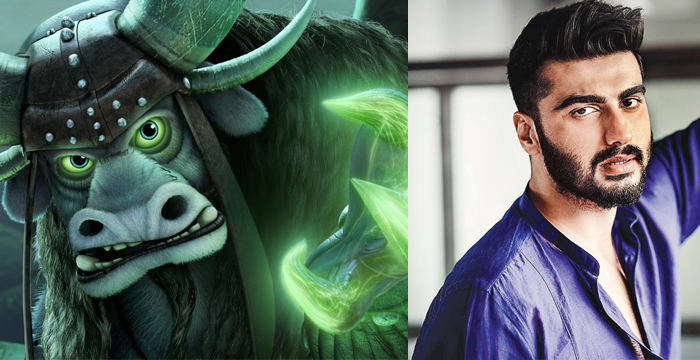 Kung Fu Panda 3 Kai and Arjun Kapoor