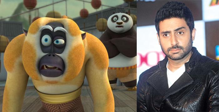 Kung Fu Panda 3 Monkey and Abhishek Bacchan