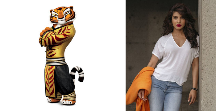 Kung Fu Panda 3 Tigress and Priyanka Chopra
