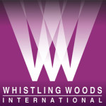 Whistling Woods logo