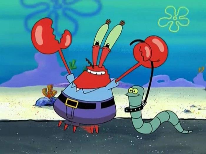 Mr  Krabs from 'SpongeBob SquarePants' will be celebrating