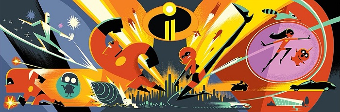 Disney Pixar announce the voice cast of 'The Incredibles 2