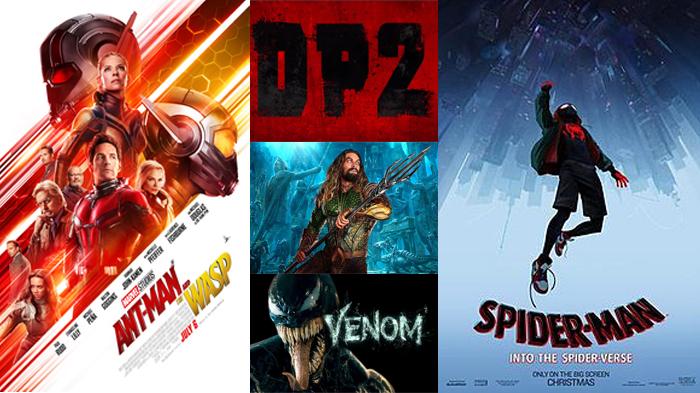 Comic Book Movies 2018