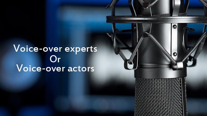 Voice-over actors