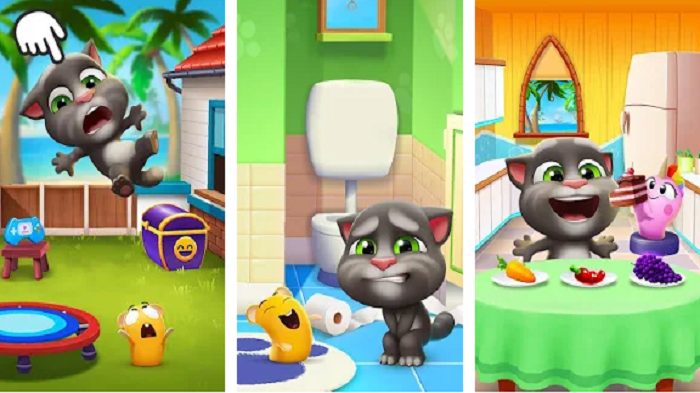 These adorable features of 'My Talking Tom 2' will bond you