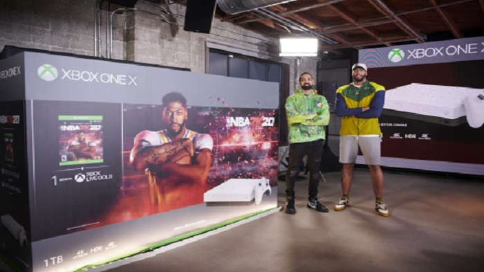 Xbox announces special edition Xbox One X NBA 2K20 console bundle
