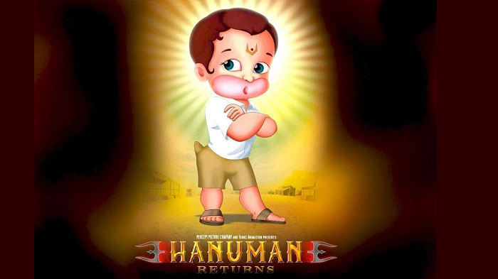 Lord Hanuman And His Various Animated Avatars
