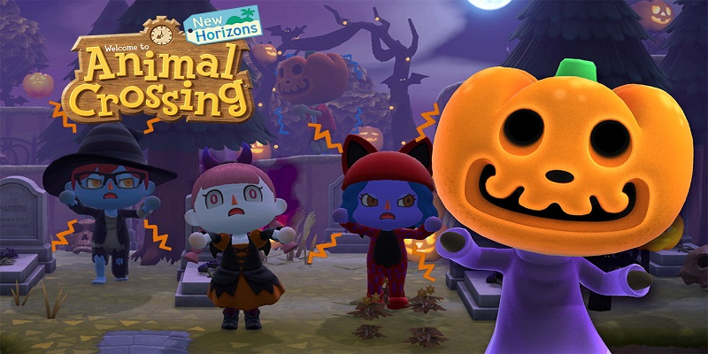Animal Crossing Halloween update brings pumpkins, candy and scares