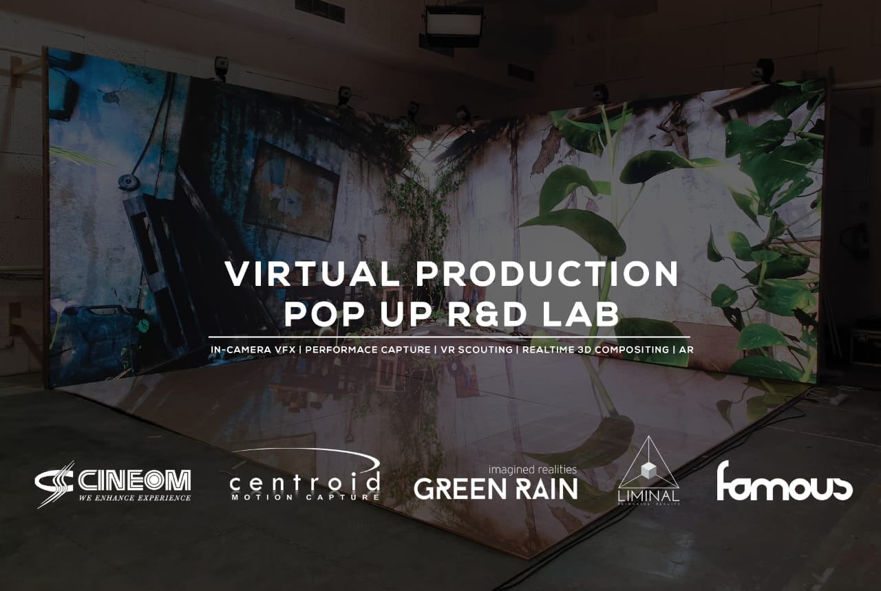 Centroid Motion Capture India, Cineom, Green Rain, Liminal and Famous  studios join forces to launch virtual production pop-up R&D lab -  AnimationXpress