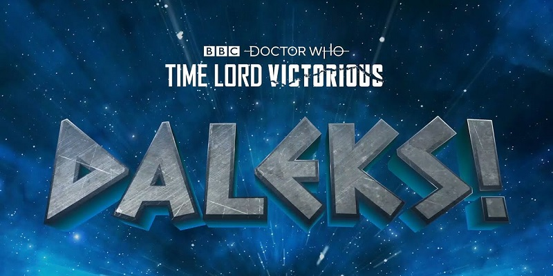 Doctor Who's Daleks is getting their own limited short series - AnimationXpress