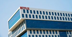 The Netflix building in Hollywood